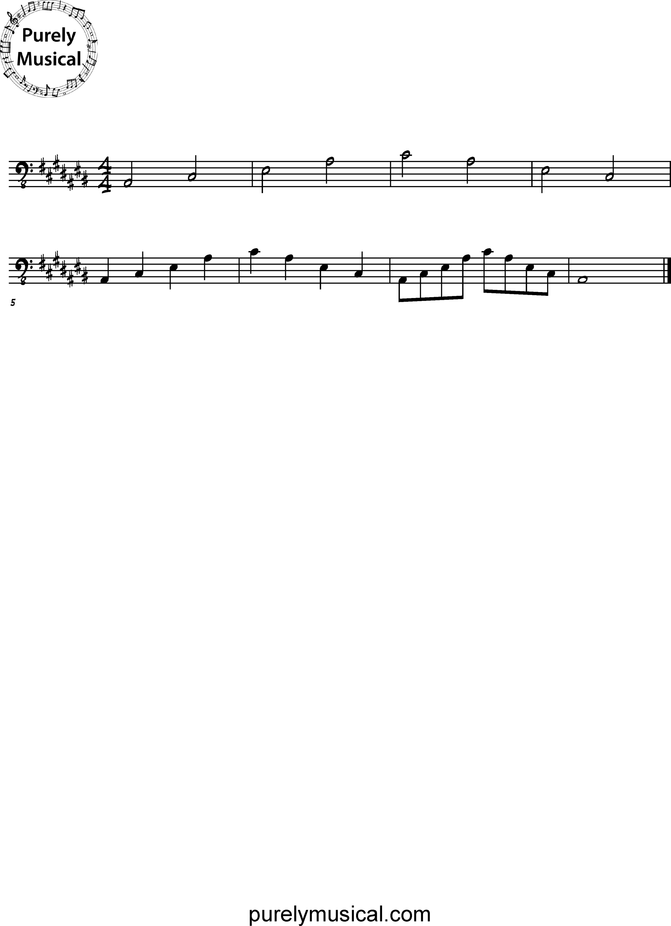 Advanced  Arpeggio A# Minor