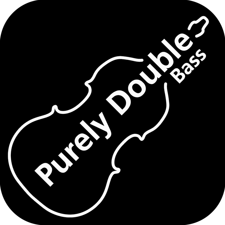 Purely Double Bass Logo